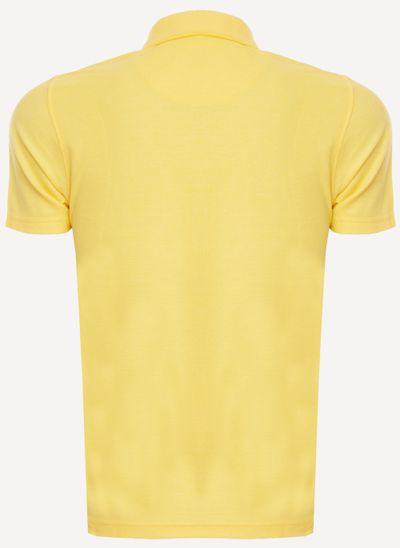 Camisa-Polo-Aleatory-Piquet-Hash-Amarela-Amarelo-P