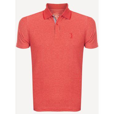 Camisa-Polo-Aleatory-Piquet-Hash-Laranja-Laranja-P